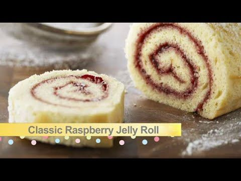 Jelly Roll Cake Classic Raspberry Jelly Roll Tart