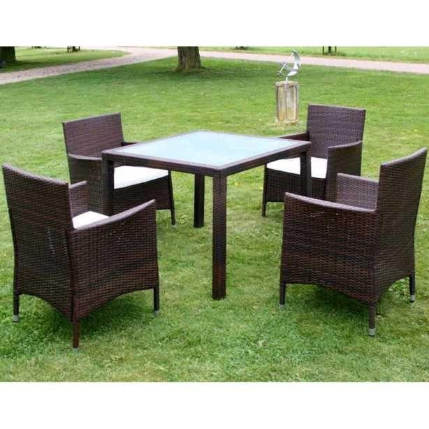 Perfekt Poly Rattan Gartenmöbel Set Sitzgruppe Essgruppe Gartengarnitur Garten  Garnitur Outdoor Lounge Möbel Gartengarnituren #Gartengarnitur