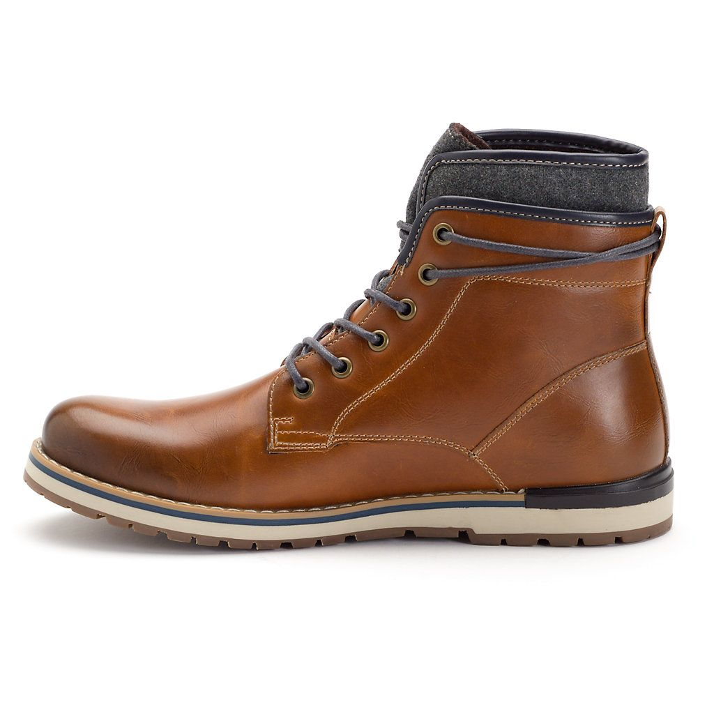 Mens lace up boots