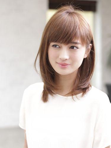 大人の艶髪ミディアムレイヤー:ミズ 30代・40代