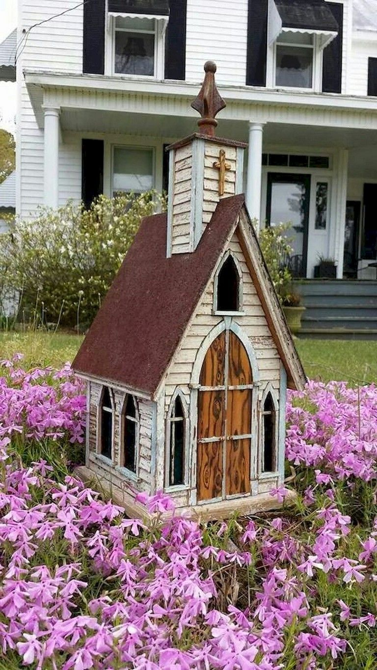 42 Simple Diy Fairy Garden Design Ideas Gardendesign Gardenfurniture Gardeningtips Unique Bird Houses Bird House Plans Bird Houses