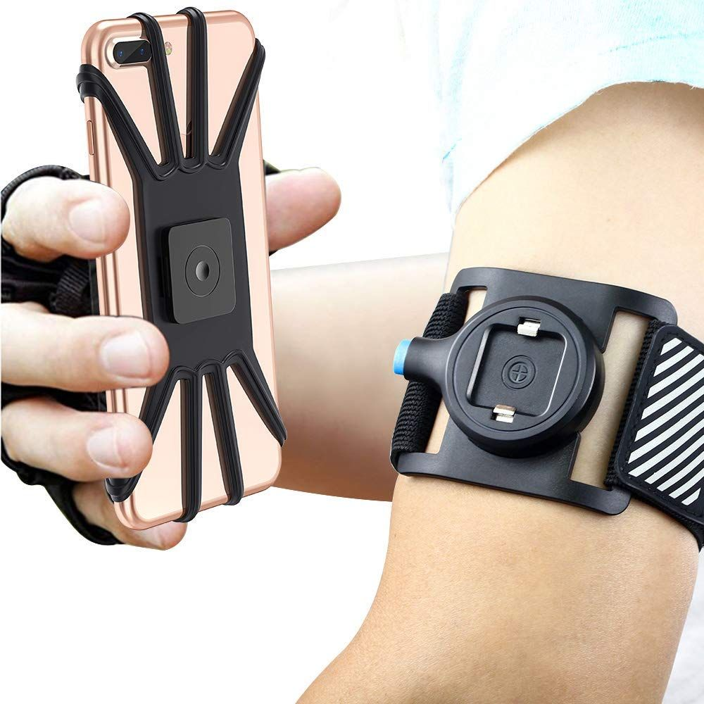 Quick Mount Phone Armband For Iphone Xs Max Xs Xr X 8 Plus 8 7 7