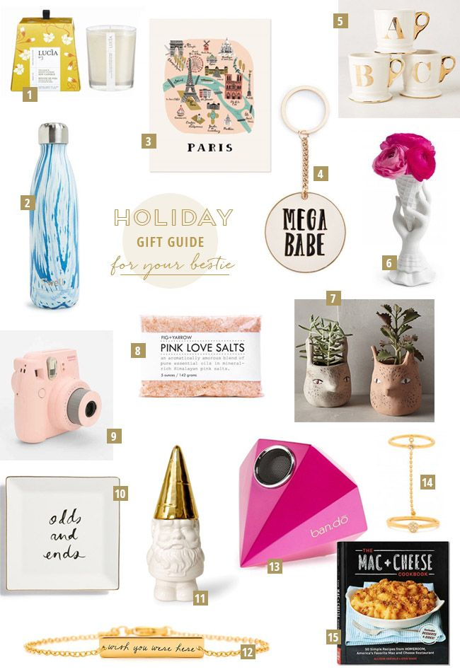Gift Guide for Your Bestie | Gift guide, Holiday gift ...