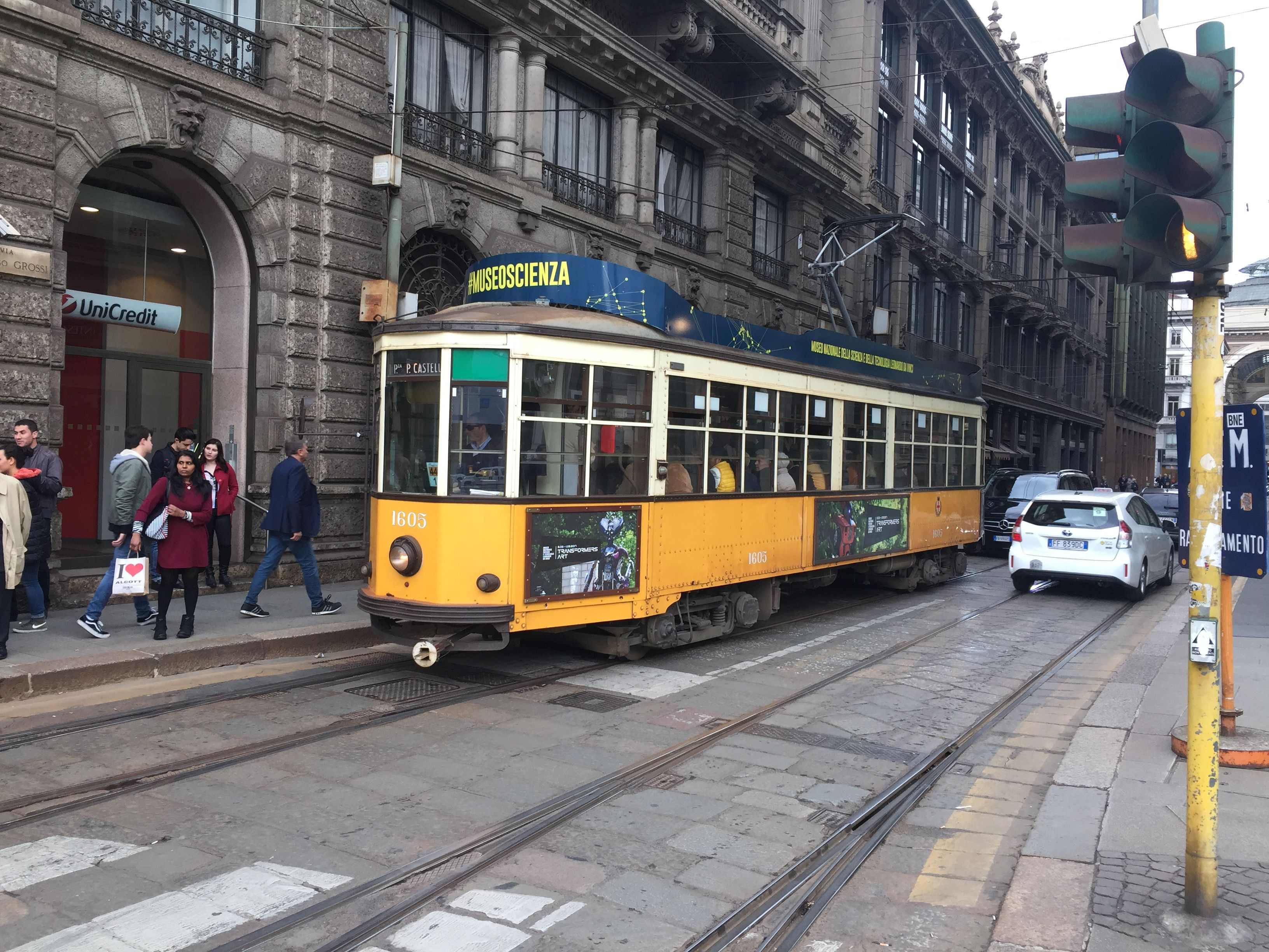 Milano Italy Where World S Oldest Trams Still On Duty Italy World Travel Diary