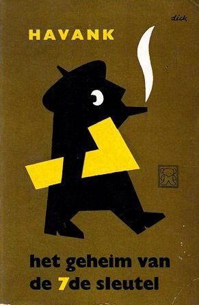 Zwarte Beertjes Het Geheim van de 7de Sleutel by Havank