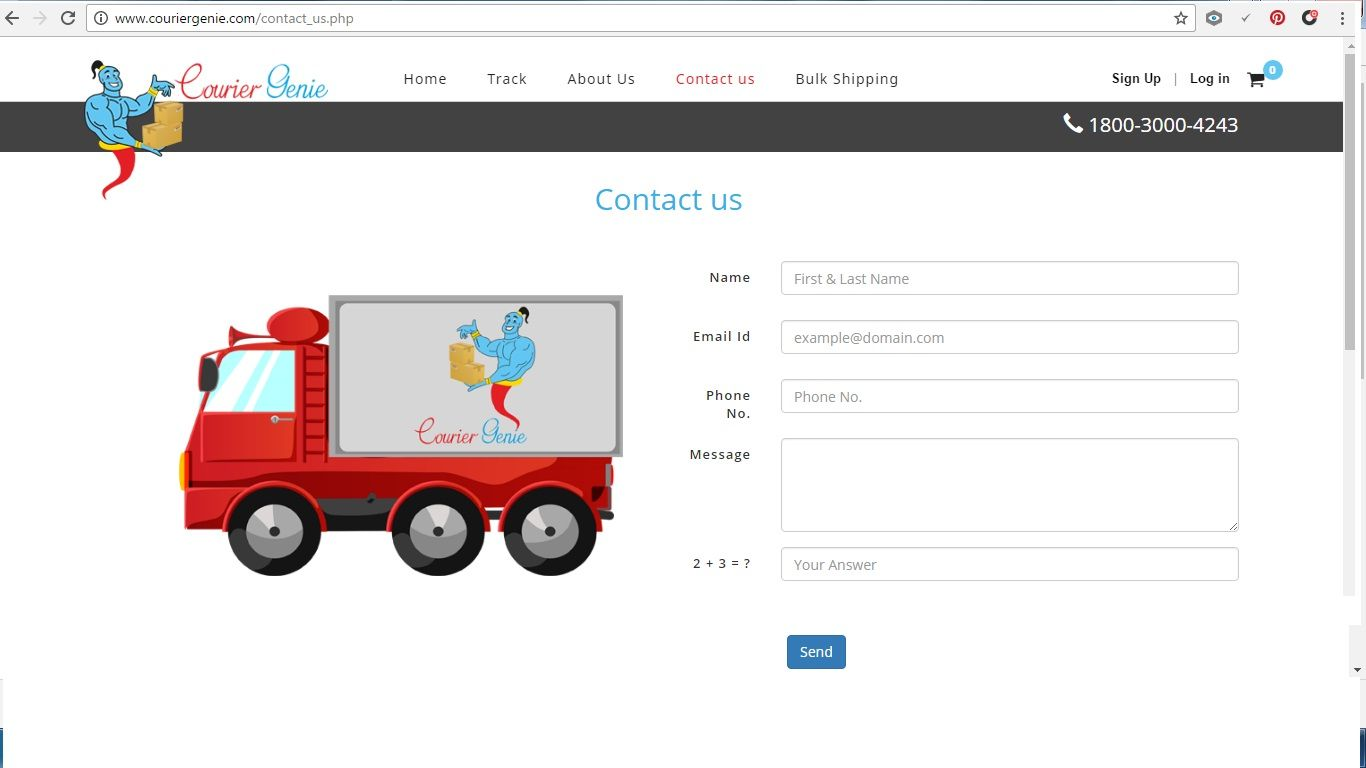 Courier Genie : Contact us for deliver your courier across the ...