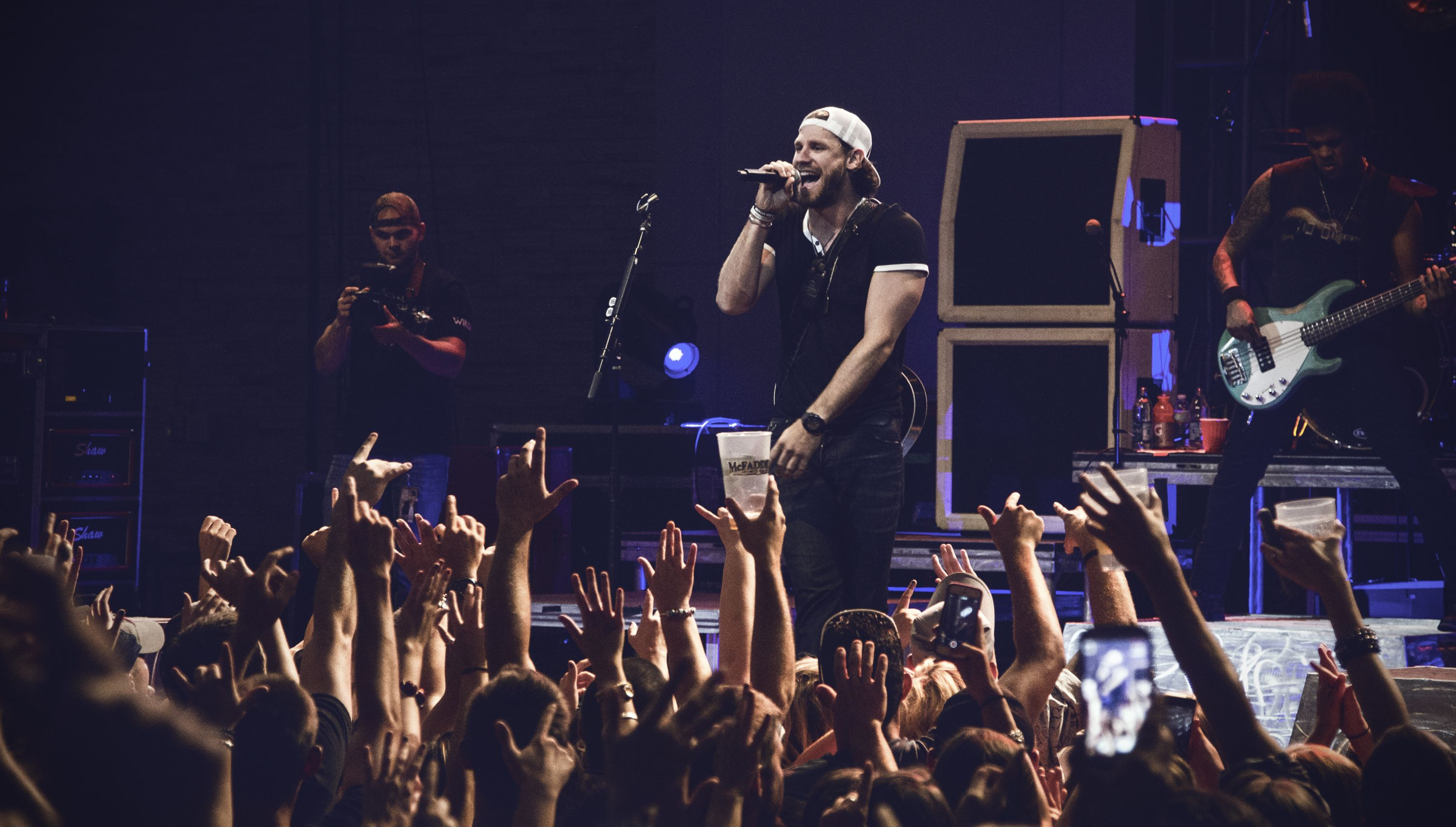 Chase Rice Performing At The Kansas City Power Light