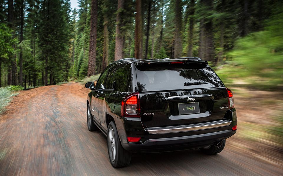 Jeep Compass Limited 4x4 lets you experience the freedom