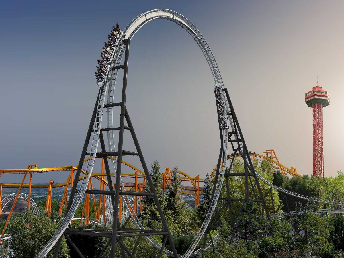 The 16 Most Terrifying Roller Coasters On The Planet Roller Coaster Crazy Roller Coaster Six Flags