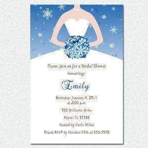 Winter Bridal Shower Invitations Printable Wedding Shower Invitations Bridal Shower Invitation Cards Winter Bridal Shower Invitations