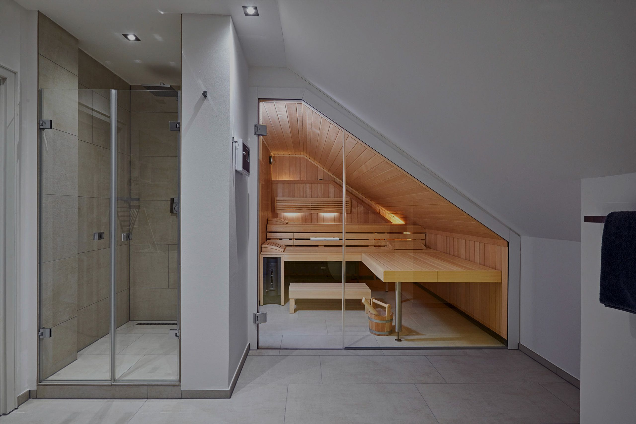 Sauna Premium Masseinbau Dachschrage Koln Badezimmer Dachschrage Badezimmer Mit Sauna Badezimmer Dachgeschoss