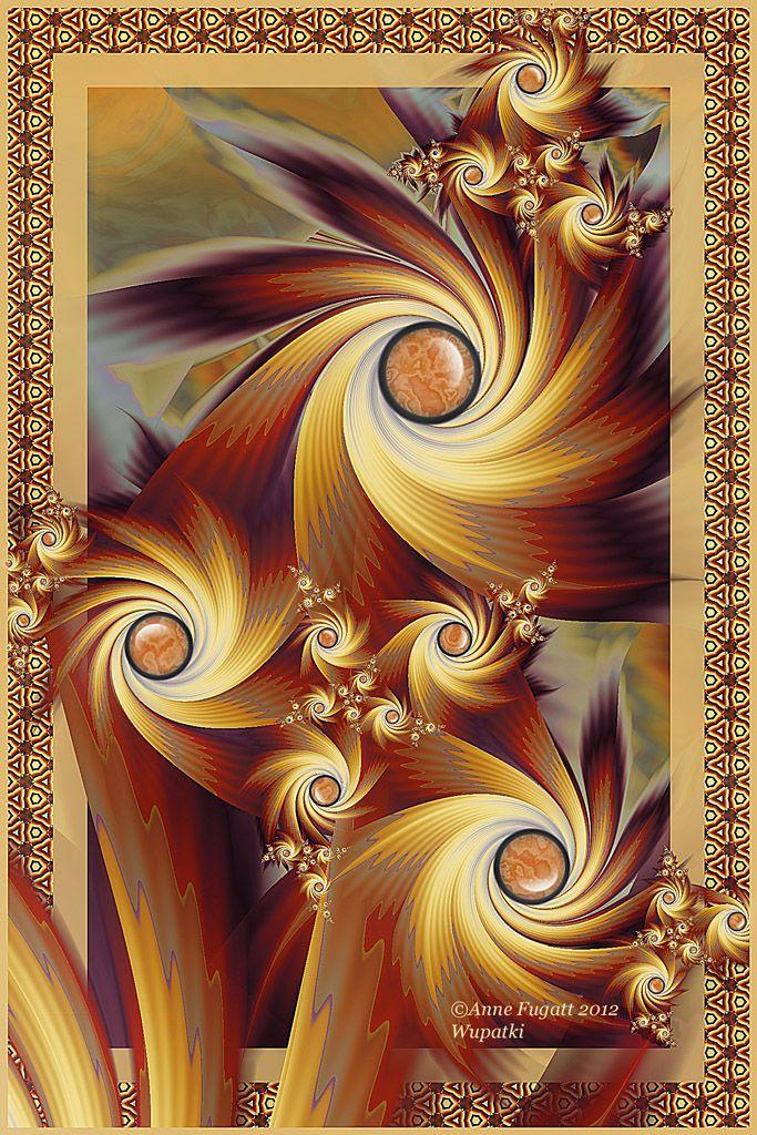 Wupatki - Anne Fugatt  Gorgeous colors and shapes!