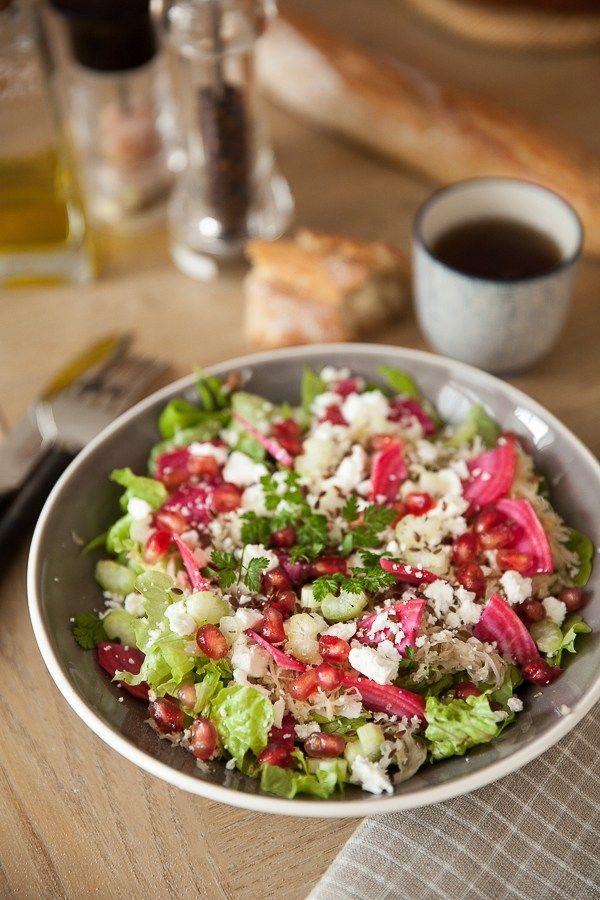 Salade De Choucroute Crue A La Feta Recette Avec Images