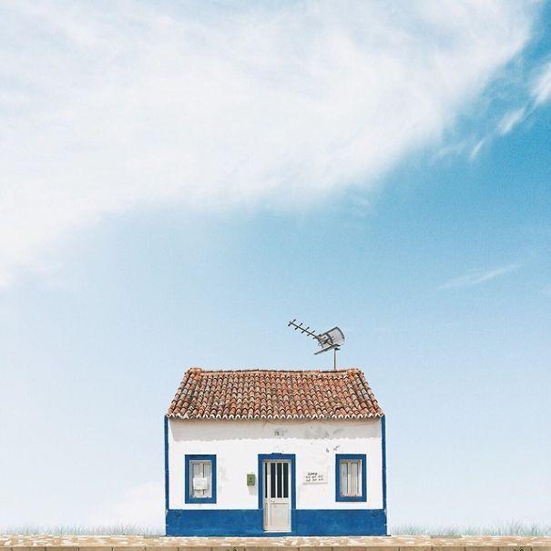 """Arte y Arquitectura: """"Casas Solitarias"""" por Sejkko"""