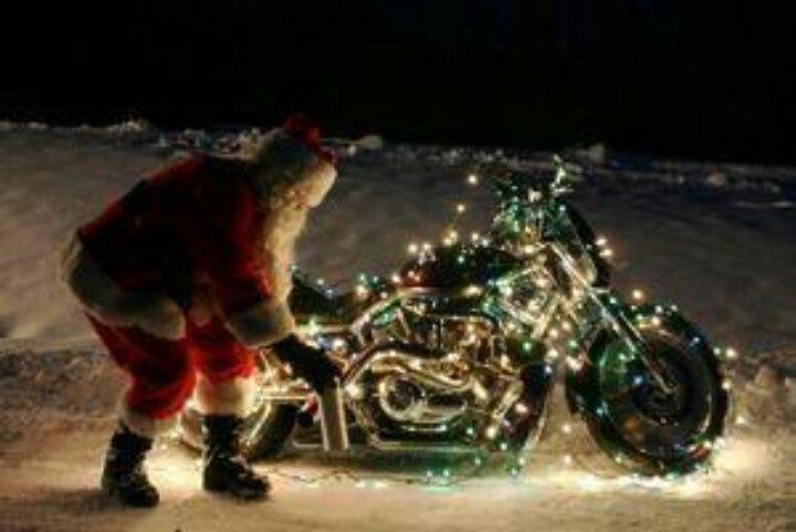 Motorcycle Christmas Lights Visit Believe In The Magic Of