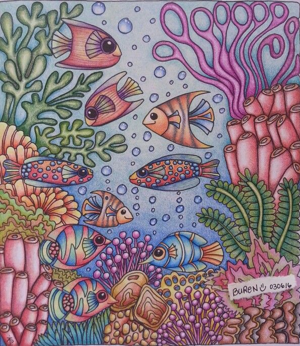 From Color Me Happy Coloring book Illustrated by Angela Porter I ...