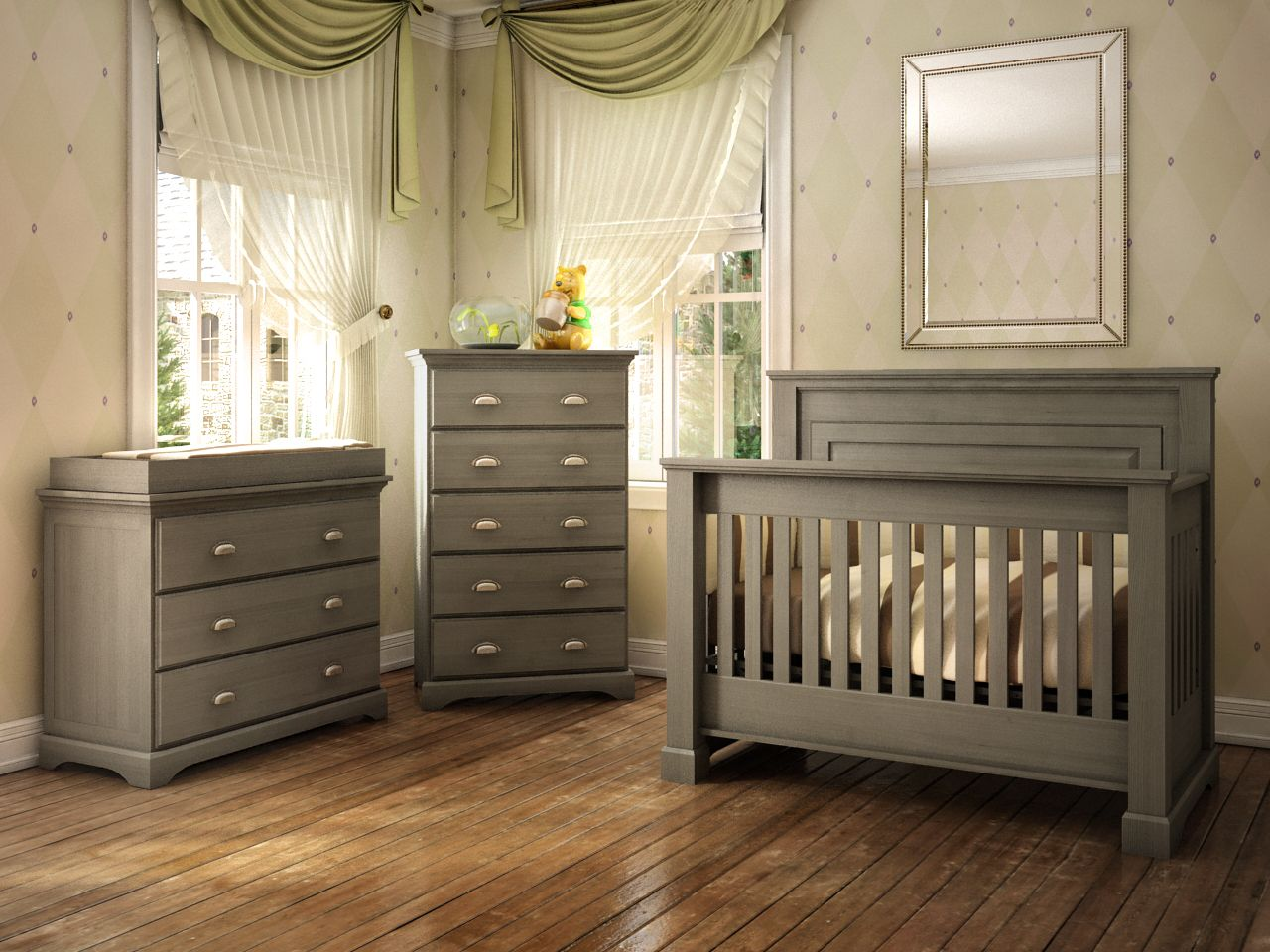 College Woodwork Carson Nursery Collection Baby Room