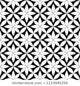 Imagens, fotos stock e vetores similares de Black and white seamless pattern modern stylish, abstract background. vector, illustration. - 245048977