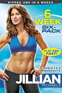 Get ripped, flat abs in 6 weeks with America's toughest trainer, Jillian Michaels. Forget boring sit-ups - Jillian's ab-shredding system will chisel the midsection with her winning combination of core-focused cardio circuits and ab-toning exercises. 6 WEEK SIX-PACK includes two dynamic 30-minute workouts plus warm-ups and cooldowns. Start with Level 1 for three weeks, then advance to Level 2 for increased intensity and fat burn. Stick with it and see dramatic results!