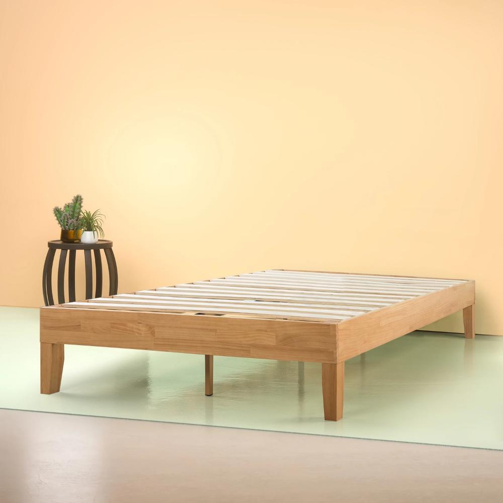 Moiz Deluxe Wood Platform Bed Frame