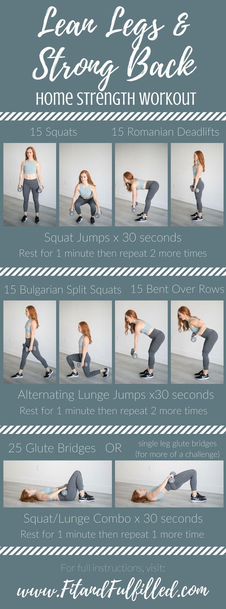 Schlanke Beine und starkes Rückentraining #dumbbellworkout Schlanke Beine und starkes Rückentraining,  #Beine #Rückentraining #Schlanke #starkes #und #dumbbellworkout