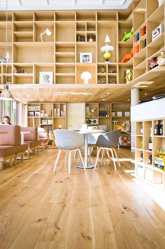 Massivholz-dielenboden-eiche-parkett-design-unbehandelt-wohnzimmer ... Wohnzimmer Ideen Eiche