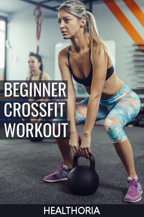 Want to burn a ton of calories and have some fun doing it?  Then give this Crossfit workout for begi...