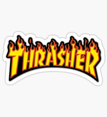 thrasher Sticker