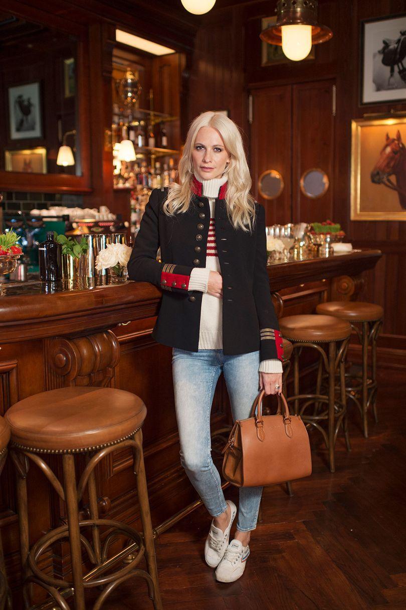 Poppy Delevingne's Wimbledon Tea Party, Ralph's Coffee & Bar, London – June 3 2017 Poppy Delevingne in Ralph Lauren.