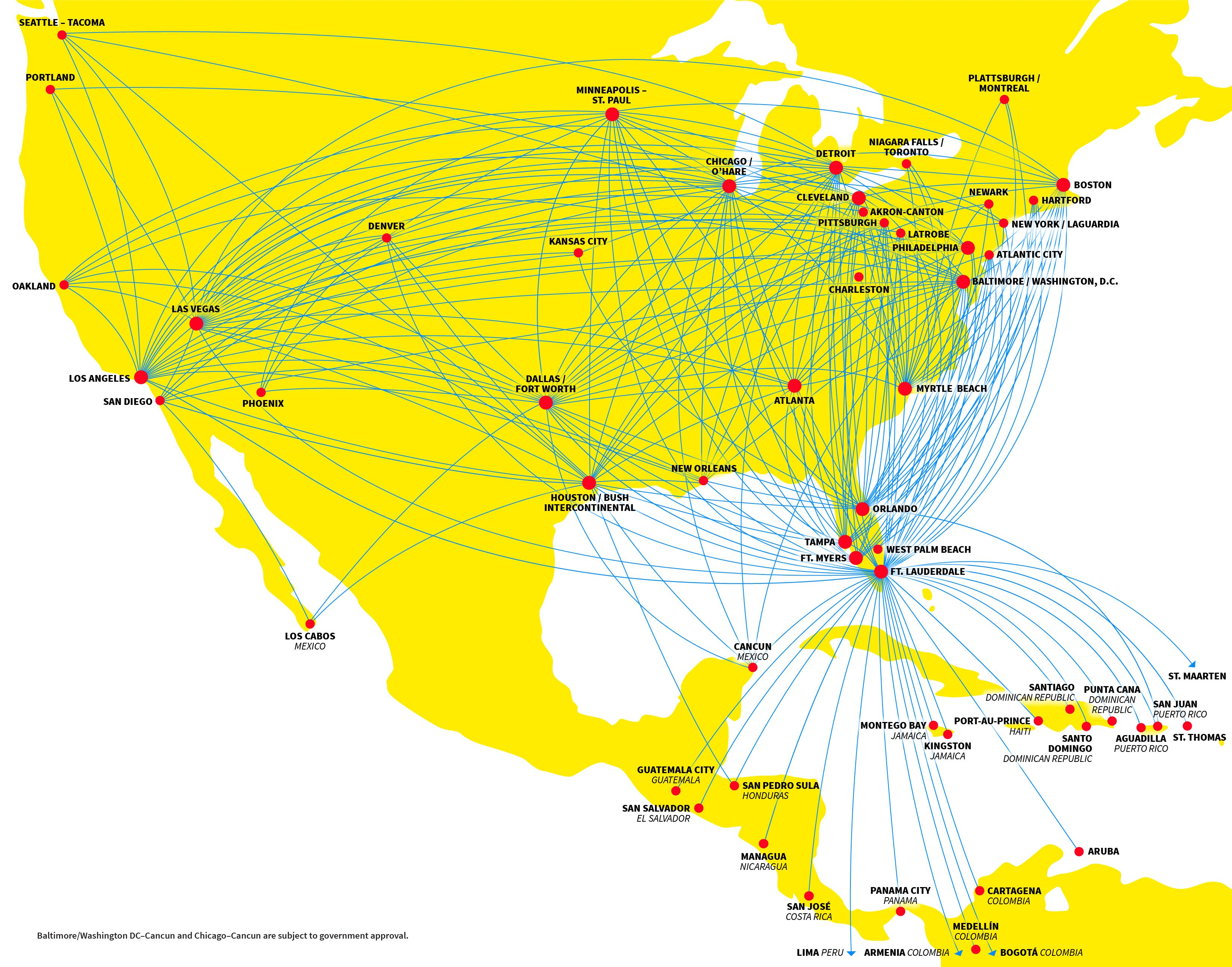 Spirit Airlines Route Map | Spirt airlines, Airline ... on united airlines flight routes 2011, lufthansa airlines route map, united airlines route structure, british airways route map, spirit airlines route map, skywest airlines route map, asia pacific airlines route map, delta caribbean route map, american airlines route map, cayman airways route map, northwest airlines route map, latin america and caribbean map, aa route map, united international route map, delta air lines route map, jetblue caribbean route map, allegiant airlines route map, continental airlines route map, united route map europe, united airlines international routes,