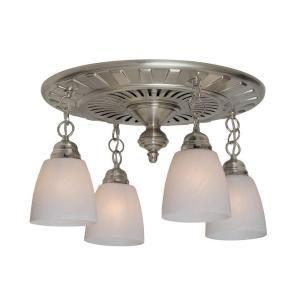 Montesino decorative brushed nickel 110 cfm exhaust bath - Brushed nickel bathroom exhaust fan ...