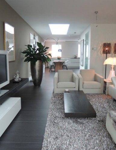 Uitgelezene Moderne woonkamer inspiratie | Interieur, Woonideeën, Thuis XI-31