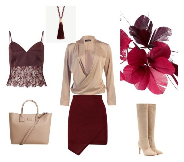 """""""Mini skirts"""" by heidi-howe ❤ liked on Polyvore featuring Miss Selfridge, Gianvito Rossi, MANGO, Ann Taylor and Valentino"""