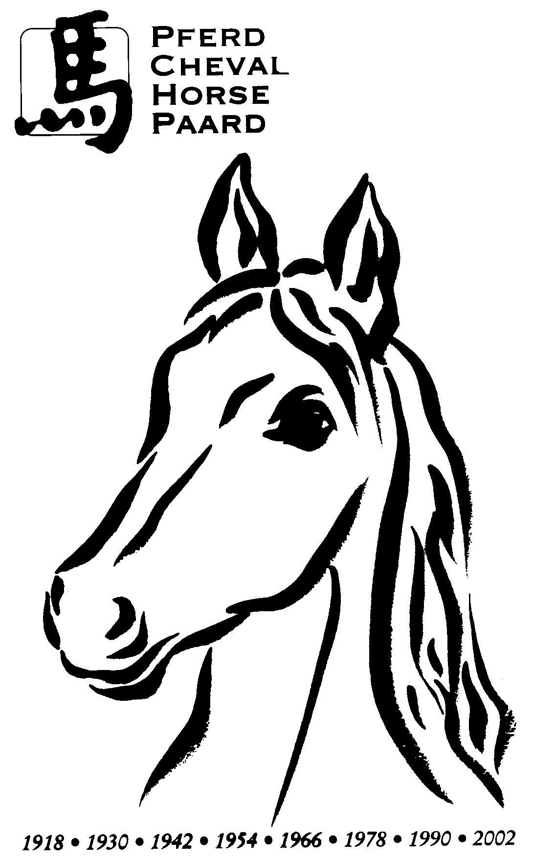 Ausmalbilder Pferdekopf Malvorlagen 03 … (mit Bildern