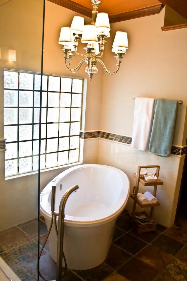 Bain Ultra freestanding tub, Victoria & Albert freestanding faucet ...