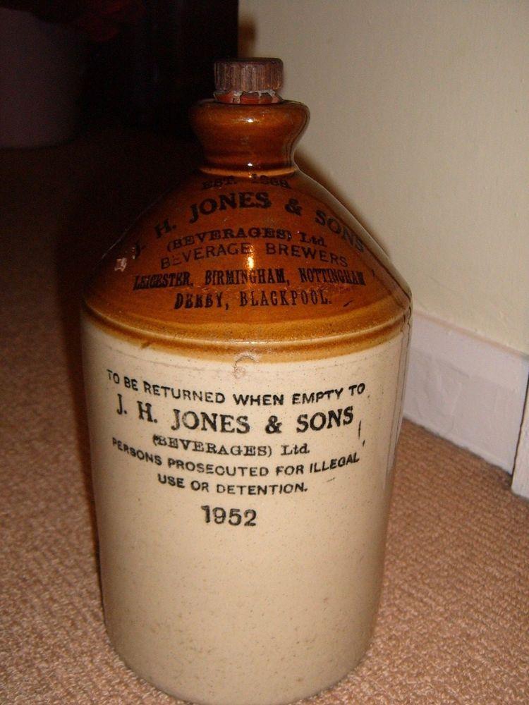 J H Jones Sons Beverages Ltd Pearson S Screw Top Flagon Bottle Jar 1952 Ebay Bottle Screw Top Beverages