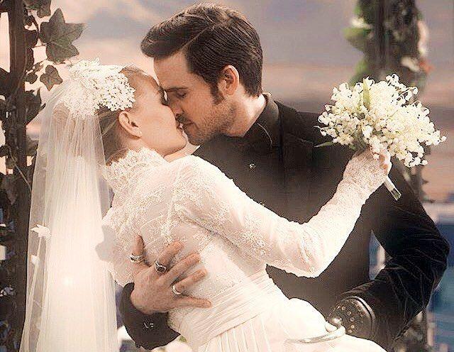 OUAT | Emma and Killian wedding | □ tv □ once upon a time