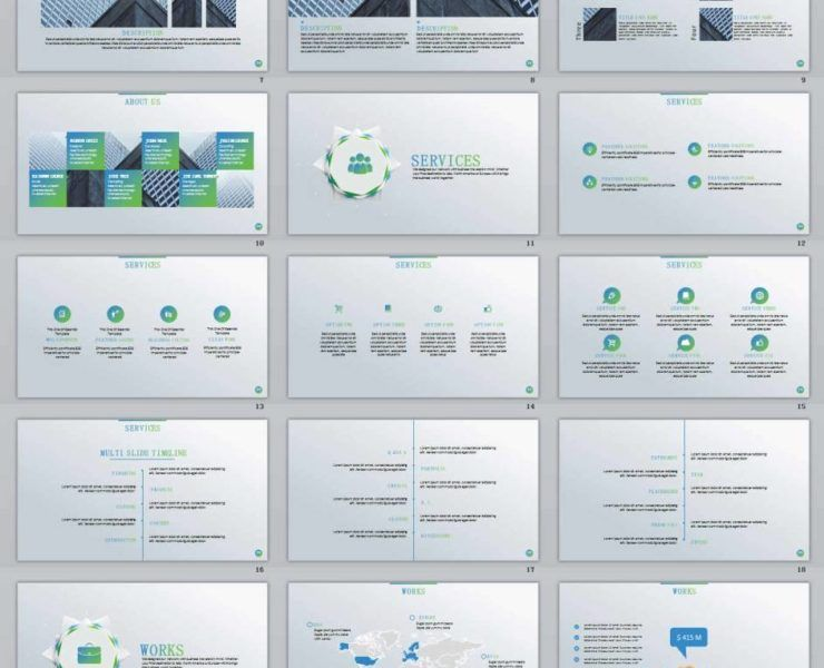 Creative PowerPoint Templates and Keynote Templates - Part 3 - professional powerpoint