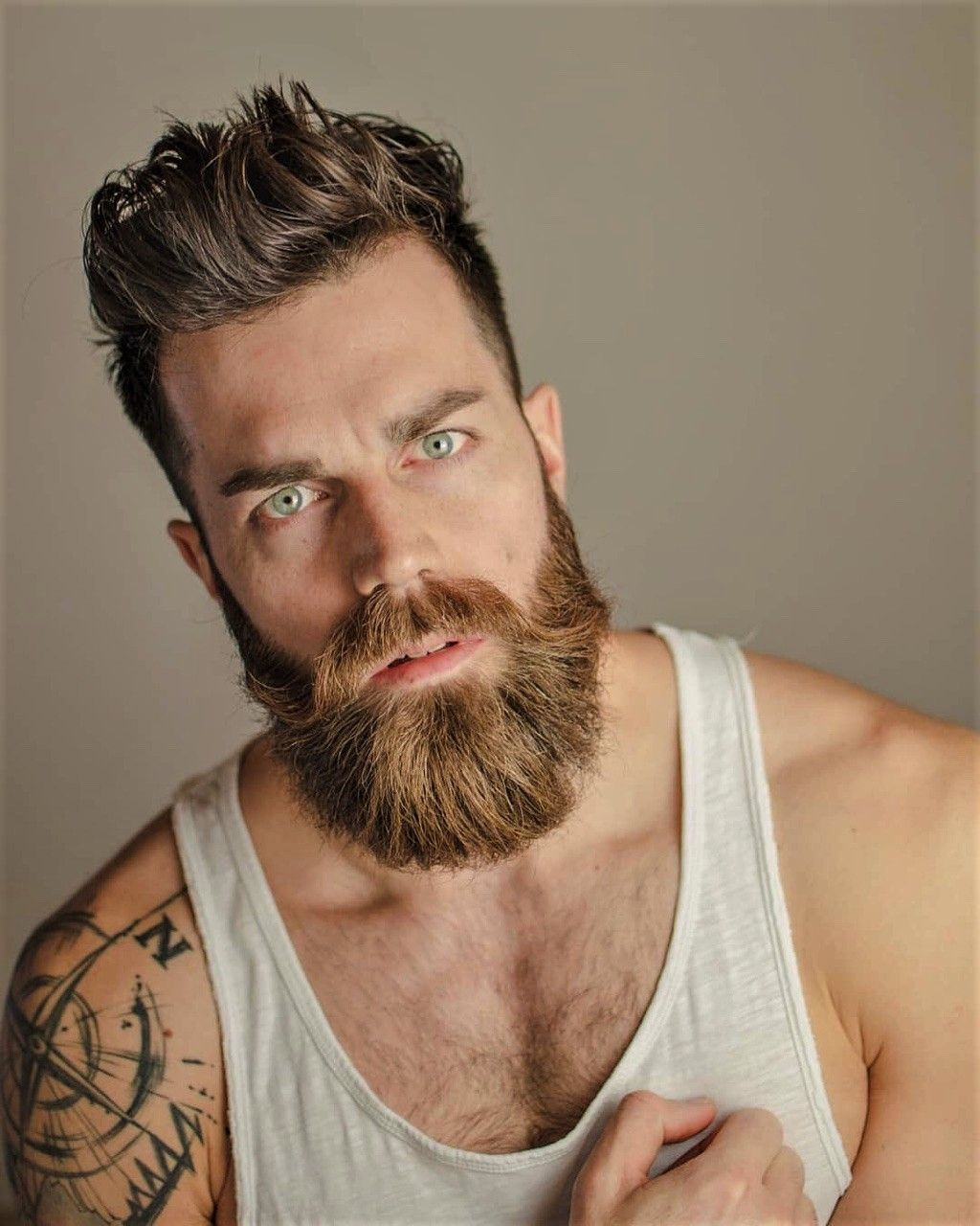 Pin By Mark M On Beards With Images Blonde Guys Beard Love