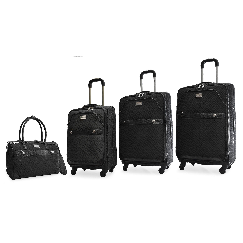 90844dbe0dd9 Adrienne Vittadini 4-Piece Expandable Spinner Luggage Set ...