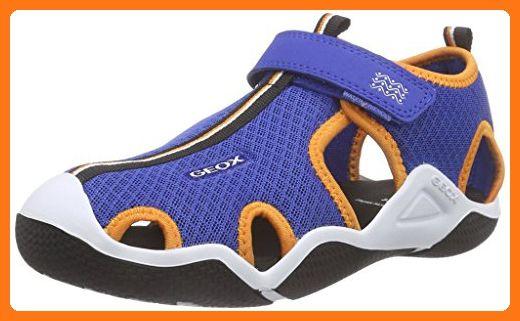 coupon code a few days away official supplier Geox JR WADER C, Jungen Sneakers, Blau (ROYAL/ORANGEC0685 ...