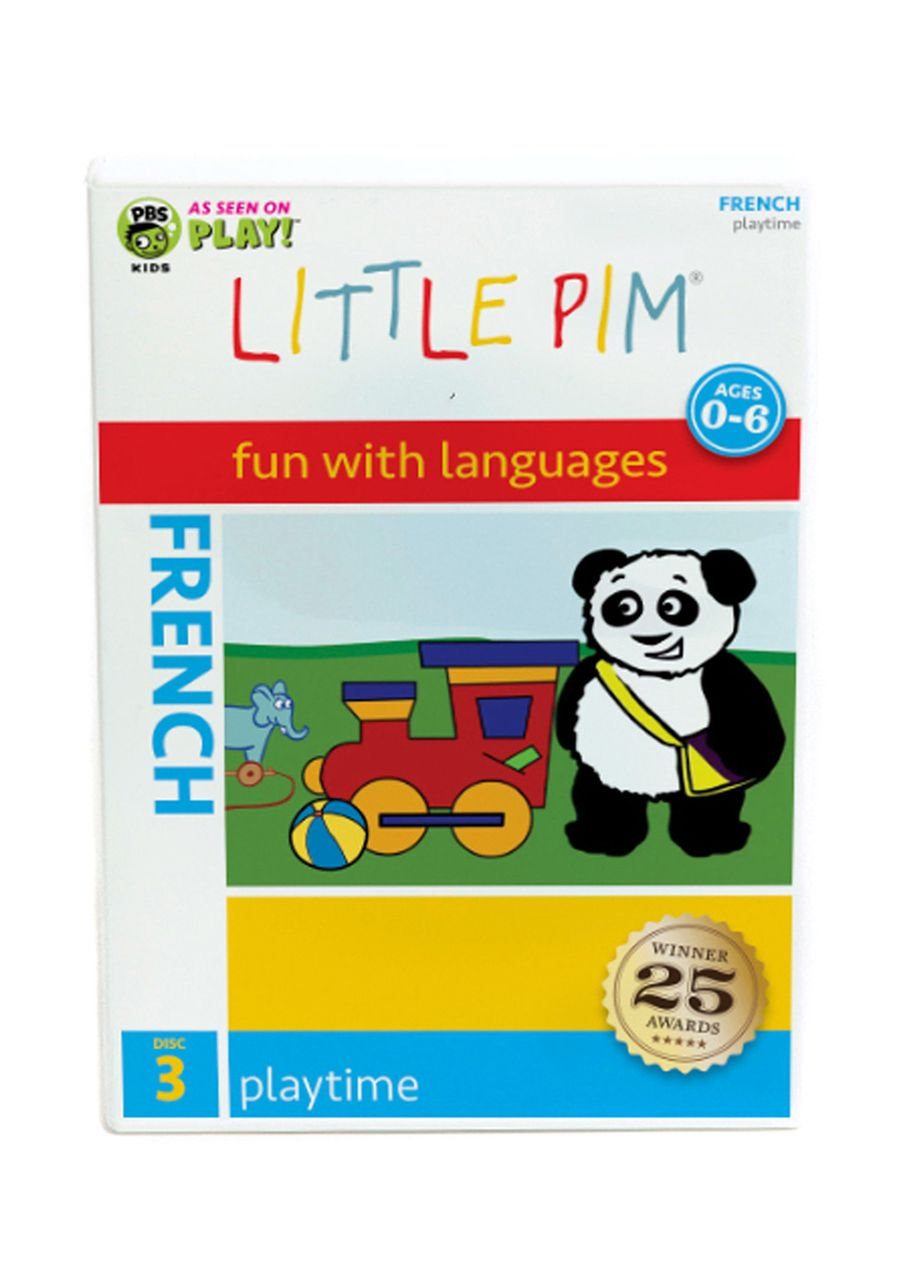 French: Playtime DVD (Disc 3) French: Playtime DVD (Disc 3); With Playtime, the third video in our French for kids video series, your  child can learn more than 60 French words and phrases to  describe