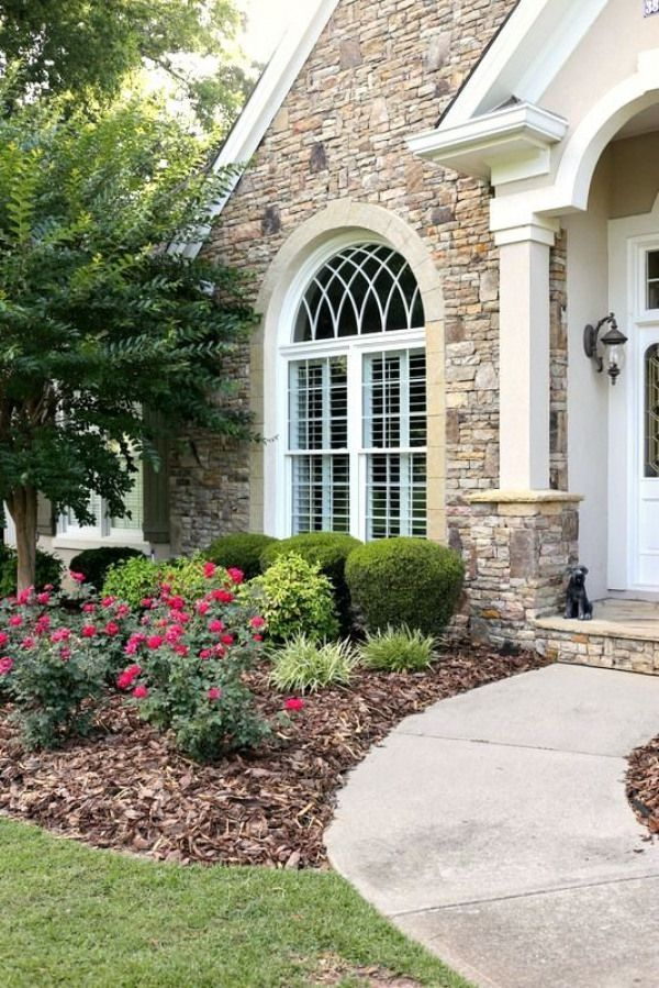 savvy southern style curb appeal frontyard front yard on stunning backyard lighting design decor and remodel ideas sources to understand id=28231
