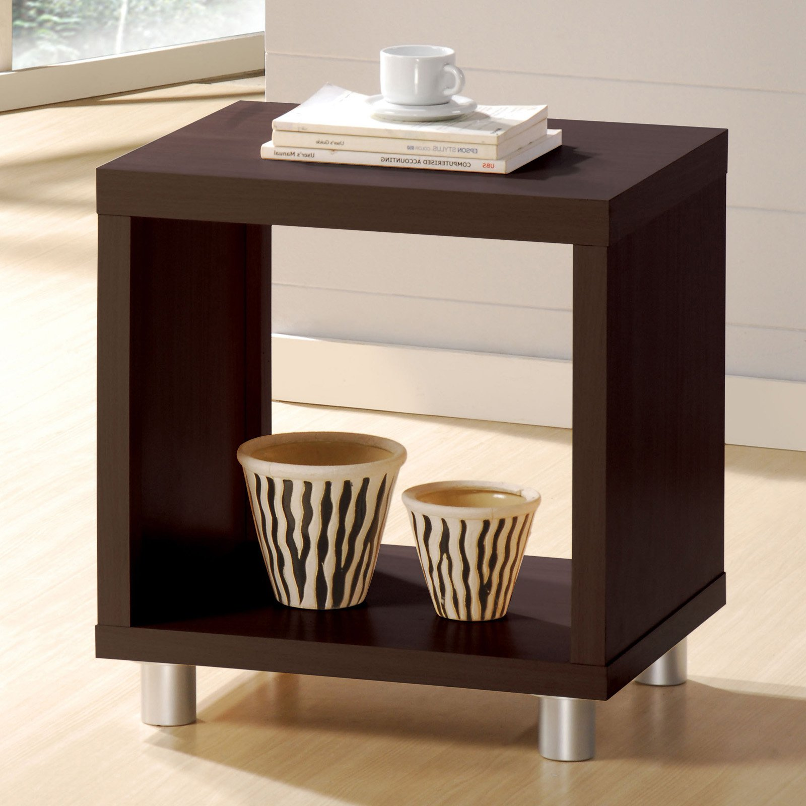 Coffee And End Tables With Storage Acme Furniture Redland Espresso End Table In 2019 Products