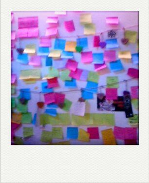 Post it? Pin it! Probably a perfect image of my #brain.