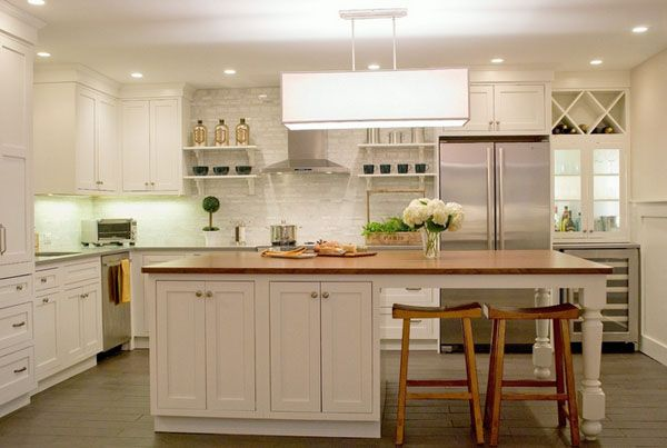 unique designs of kitchen island feat attached table the white