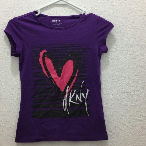 dkny kids graphic top no trades DKNY Tops