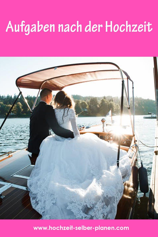 Aufgaben Nach Der Hochzeit Hochzeit Hochzeitszeitung Braut