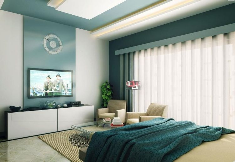 Peinture salon et chambre- quelles couleurs pour quelle pièce? Salons