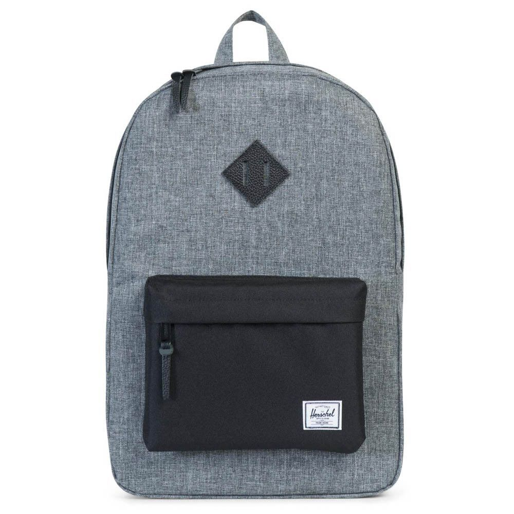 53cac41ab1f Herschel Supply Co. Heritage Backpack - Raven Crosshatch Black ...